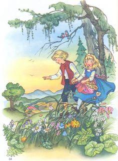 Hans en Grietje F.Kuhn - Elfen & Boeken