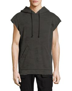 Hudson Short-sleeve Cotton Hoodie In Green Short Sleeve Hoodie, Hoodie Outfit, Mens Fashion, Fashion Outfits, Urban Outfits, Cute Outfits, Cotton, Mens Tops, How To Wear