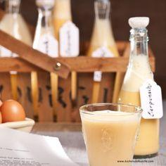 Eierpunsch Glass Of Milk, Drinks, Food, Recipes With Eggs, Food Gifts, Chef Recipes, Weihnachten, Meal, Eten