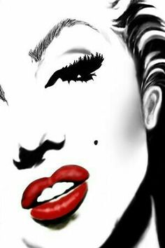 Pop art still flourishes today and is extremely popular. Here is a compilation of pop art images depicting the iconic Marilyn Monroe. Marilyn Monroe Tattoo, Marilyn Monroe Decor, Marilyn Monroe Drawing, Marilyn Monroe Wallpaper, Marilyn Monroe Pop Art, Marilyn Monroe Portrait, Marilyn Monroe Quotes, Norma Jeane, Oeuvre D'art