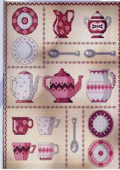 Cross Stitch Designs, Cross Stitch Patterns, Hand Embroidery, Embroidery Designs, Cross Stitch Kitchen, Cross Stitch Collection, Diy Doll, Hama Beads, Cross Stitching