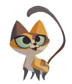 My cat Lulu! I Love Cats, Crazy Cats, Cute Cats, Animal Drawings, Cartoon Drawings, Image Chat, Cat Sketch, Matou, Cat Character
