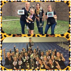 So proud of these girls and their coaches!!! They cheered their hearts out and won 1st place in their division, 1st place in their age group & beat out 13 other teams for the title of Grand Champions!! Oakleaf Jr PeeWee, WE are proud of you!!! #oakleafrocksthehouse #regionalsherewecome