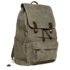 The Snap Backpack Khaki Green – Everlane
