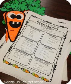 Creepy Carrots by Saddle Up For 2nd Grade