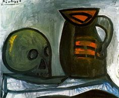 Pablo Picasso. Crane and pitcher, 1945