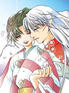 Kagura & Sesshoumaru