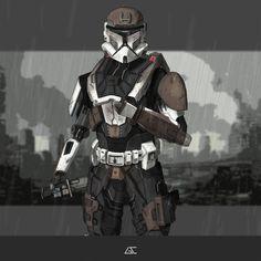 Sci Fi Characters, Clone Trooper, Geek Culture, Star Wars Art, All Star, Character Art, Cool Art, Concept Art, Fan Art