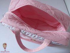 Resultado de imagem para molde de bolsa mala de bebe gratis