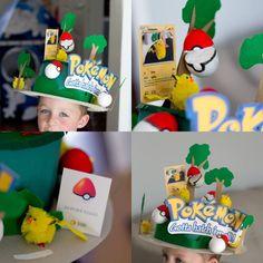 Pokémon Gotta hatch 'em all Poke eggs Easter bonnet parade winner :D Crazy Hat Day, Crazy Hats, Easter Bonnets, Easter Eggs, Pokemon Easter, Easter Hat Parade, Easter Crafts, Easter Ideas, Craft Day