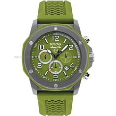 Bulova Marine Star Green