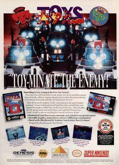 Toys (Super Nintendo, Sega Genesis) – http://www.megalextoria.com/wordpress/index.php/2013/10/25/toys-super-nintendo-sega-genesis/