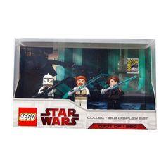 LEGO Star Wars Minifigures Set - 2009 Comic Con Exclusive (Includes Anakin, Obi-wan and Clone Trooper) LEGO http://www.amazon.com/dp/B002OGFF6W/ref=cm_sw_r_pi_dp_Jv3Kub1CF7P74