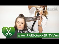 The French technique focuses on a woman's head shape and uses her hair to frame her face resulting in soft, sexy, versatile, feminine looks. French Haircut, French Girls, Head Shapes, Her Hair, Sample Resume, Wedding Hairstyles, Hair Cuts, Hair Styles, Face