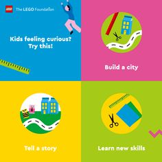 Let your imagination run wild as you build your very own city. Discover more ways to learn through play and help your kids #RebuildTheWorld with confidence.