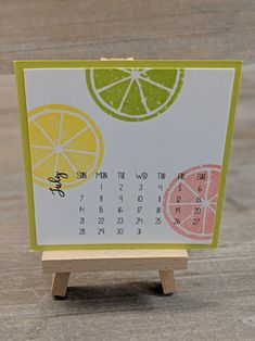 creating joy with family and crafts Calendar Pages, Calendar 2020, Desk Calendars, Calendar Ideas, And Just Like That, Lemon Lime, Stamping Up, Christmas Projects, Lemonade