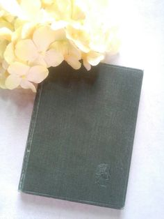 Antique Book. Vintage Book. Selections from the poems of John Keats and Percy Shelley. Literary Gift Book. by TheLonelyBookJunkie on Etsy