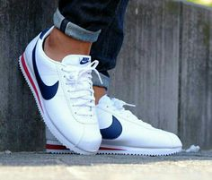 best website 47433 9a993 Nike Cortez White, Nike Cortez Mens, Nike Cortez Shoes, Sneakers Nike, Zara