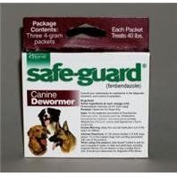 3 PACK SAFEGUARD DOG WORMER, Size: 4 GRAM (Catalog Category: Dog:HEALTH CARE) - http://www.thepuppy.org/3-pack-safeguard-dog-wormer-size-4-gram-catalog-category-doghealth-care/