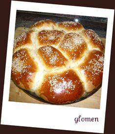 Pan dulce de cabello de angel