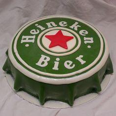 Heineken men cake