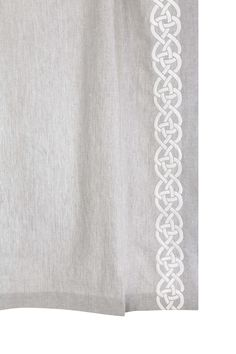 Our interlocking design, Rope 2  is made by highly skilled digital embroidery machines