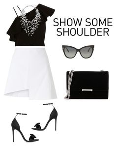 """""""Show Some Shoulder..."""" by star-kwt ❤ liked on Polyvore featuring WÃ¥ven, River Island, Gucci, Ivanka Trump, Phase Eight, Tom Ford and showsomeshoulder"""