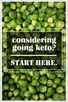Considering a Ketogenic Diet? Here's a guide to get you set up for success.