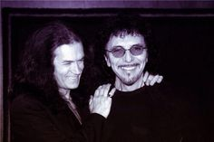 Tony and me... Brothers for life...