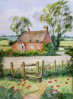 poppy cottage by Wendy Smith