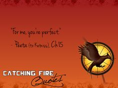 Hunger Games Trilogy Quotes. I love you Peeta!