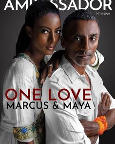 Maya Haile and Marcus Samuelsson for Ambassador Magazine #blacklove Love Jones, Black Love, Maya, First Love, Magazine, Beautiful, Magazines, Maya Civilization