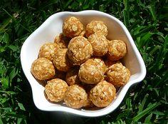 Dog Treat Recipe photos | No Bake Peanut Butter Balls Dog Treat Recipe | Home Style Austin