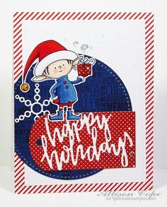 Happy Holidays Elf