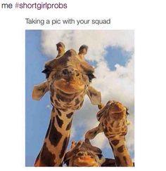 Group selfie problems: