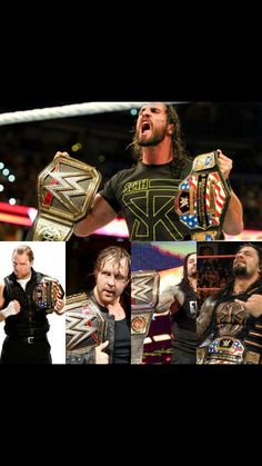Roman Reigns winning the US Title tonite makes it now that all 3 members of the Shield have been US Champion & WWE World Heavyweight Champion