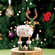 Patience Brewster Mini Dashaway Blitzen Reindeer Ornament Christmas Holiday Tree Decoration Patience Brewster http://www.amazon.com/dp/B007O1TMSY/ref=cm_sw_r_pi_dp_8cIhub0A7WWVD