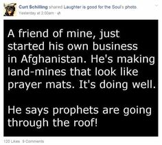 The Top 10 Posts And Memes On Curt Schilling's Facebook Page