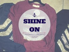 THIS JUST IN! These sparkly log-sleeved shirts are just $29.99.  www.fragrancesunlimited.net