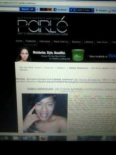 Im the featured story with Parle Magazine. Check it out at www.ParleMagazine.com #CEOChair