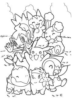 Pokemon Coloring Pages: Here are some ideas for your, which you can download too!