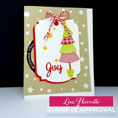 Embellish My World seriously fun and whimsical hand made christmas card!  www.cpstampofapproval.com