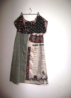 Items similar to new zealand flax linen maori proverbs dress cotton shift dress summer comfort floral spotty fun colorful beach ocean dreamer on Etsy Refashioned Clothes, Upcycled Clothing, New Zealand Flax, Maori Designs, Patchwork Fabric, Recycled Fashion, Little Dresses, Dress Summer, Style Me