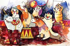 Le cirque des chats 2