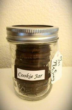 Mason Cookie Jar Gift Idea