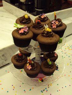 Receitas Mago: Cupcake de Chocolate por Isaura Ubaldini