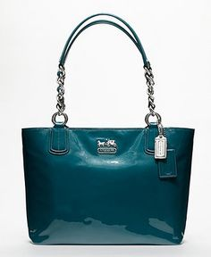 COACH CHELSEA PATENT LEATHER TOTE