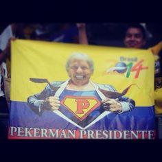 Pekerman PRESIDENT!