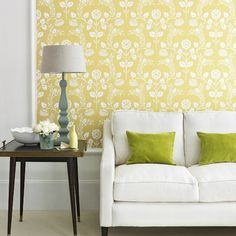 Chartreuse Gelb Wohnzimmer Wohnideen