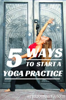 I recommend yoga in all of my books.  This blog is an inspiring place for all beginners to start their practice.  The easiest ways to start doing yoga!